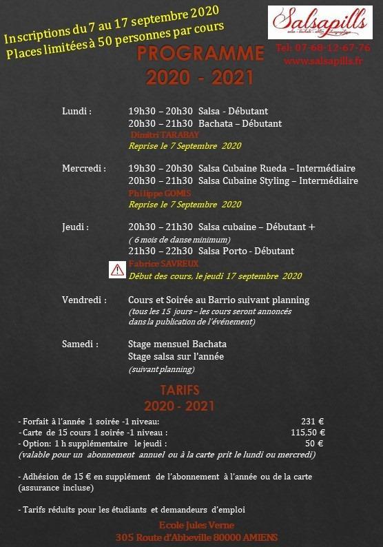 Programme 2020-2021